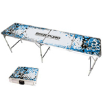 8ft Graffiti Splash Beer Pong Table