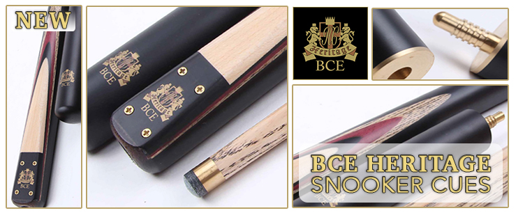 BCE Heritage Snooker Cues