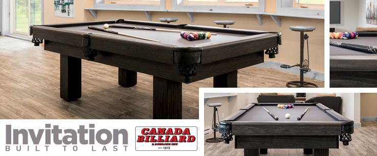 Canada Billiards Invitation