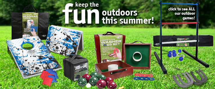 Keep the fun ourdoors this summer!