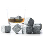 Set of 9 Whisky Chilling Rocks Whisky Stones