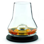 11822 - Whisky Cordial Glass with Chilling Coaster Set