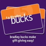 F.G.Bradley Bucks $25.00 Gift Card