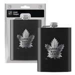 Toronto Maple Leafs Laser Etched 8oz Flask