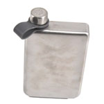 12782 - Bar Flask - 8oz Single Wall Stainless Steel