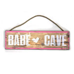 12788 - Babe Cave Wooden Sign