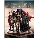 DC Comics Justice League Movie Tin Sign