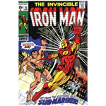 12582 - Marvel Comics Retro: The Invincible Iron Man Comic Book Cover