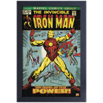 13400 - Marvel Iron Man #47 Framed Colour Poster