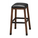 12543 - Rustic Backless Bar Stool  - Gunshot