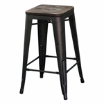 10203 - Modus 26'' Stool In Gunmetal - Worldwide