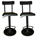 12347 - Worldwide Haines Adjustable Height Bar Stool