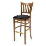 4736 - Grill Wooden Bar Stool
