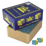 5896 - Cue Chalk Triangle Blue 144 Pieces