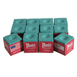 187 - Cue Chalk Master Green  (12 pack)
