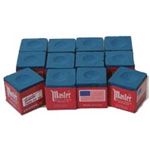 188 - Cue Chalk Master Blue (12 pack)