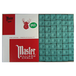 10167 - Cue Chalk Master Spruce - 144 Pack