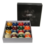 4622 - Dufferin 2 1/4 Premium Pool Ball Set