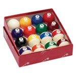 301 - Continental 2 1/4'' Pool Ball Set