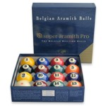 302 - Aramith Super Pro 2 1/4'' Pool Ball Set