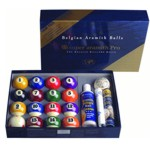 317 - Super Pro 2 1/4'' Pool Ball Value Pack Ball Set