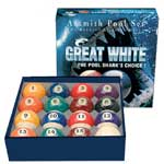 5794 - Aramith Great White 2 1/4'' Pool Ball Set
