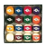 6671 - Jett 2'' Pool Ball Set