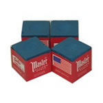 390 - Cue Chalk Master Blue (4 pack)