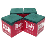 10177 - Cue Chalk Master Forest Green - 4 Pack