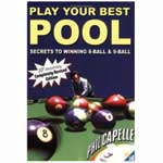 418 - Play Your Best Pool Book by Phil Capelle
