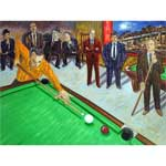 651 - Private Game Mounted Print by Arthur Robins