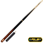 13070 - Riley England Sapele Series 3/4 Cut Snooker Cue - RES-2UK