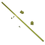 884 - Brass Scoreboard Rod 21'' with 2 Indicators