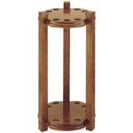5693 - Dufferin Round 9 Cue Floor Rack