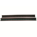 11174 - Oak Cue Rack 2 Pieces - 48'' for 21 Cues