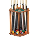 896 - Canada Billiard Corner Rack for 10 Cues