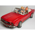 10321 - Forchino 65 Ford Mustang Convertible