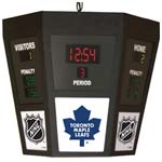 7567 - *Not Available* Octagonal Scoreboard with Light - Toronto Maple Leafs