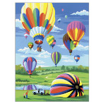 15873 - Hot Air Balloons Paint by Numbers Set (PJS34)