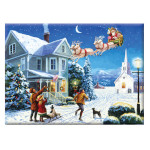 15890 - Santa's Here Paint by Numbers Set (PAL36)