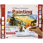 15894 - Home for Christmas Paint by Numbers Set (PAL40)