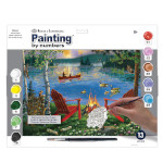 15898 - Lakeside Retreat Paint by Numbers Set (PAL44)