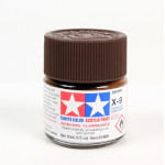 15032 - Tamiya Brown Gloss Model Paint (Acrylic Mini X-9 nr. 81509)