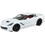 14271 - Chevy Corvette Stingray Z51 - White Die Cast