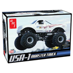 USA-1 4x4 Monster Truck Model - 1/24
