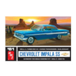 9893 - 1960 Chevy Impala Hardtop Plastic Model Kit 1:25