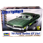 9863 - '70 Ford Torino GT 2 'n 1 Plastic Model Kit