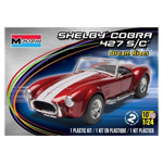 9865 - Shelby Cobra 427 S/C 1/24 Scale Plastic Model Car Kit
