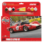 15773 - Hornby Airfix Ford 3 Litre GT 1:32 Scale Model Kit (A55308)