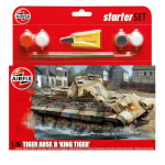 15771 - Hornby Airfix King Tiger Tank 1:76 Scale Model Kit (A55303)